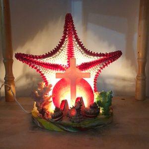 Light up beach theme starfish light